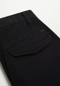 Mango - Pantalon cargo - zwart - 2
