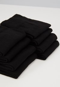 Pier One - 7 PACK - Strumpor - black - 2