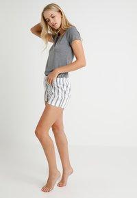 Marc O'Polo - CREW NECK - Pyjama top - grey - 1