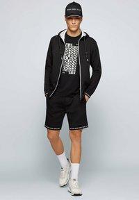 BOSS - SAGGY  - Zip-up sweatshirt - black - 1