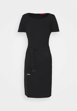 KADASI - Shift dress - black