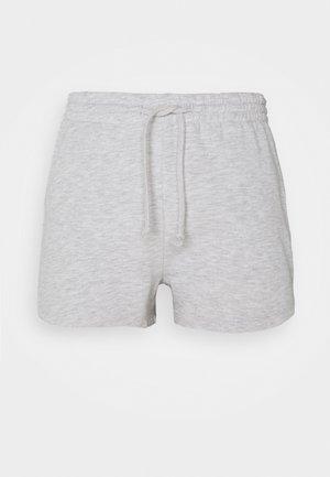 ABBIE - Shorts - light grey melange