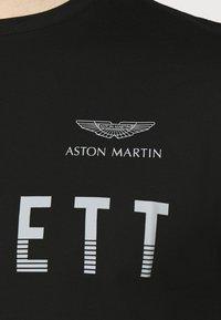 Hackett Aston Martin Racing - TEE - Print T-shirt - black - 6