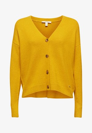 Cardigan - brass yellow