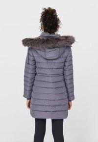 Stradivarius - Winter coat - grey - 1