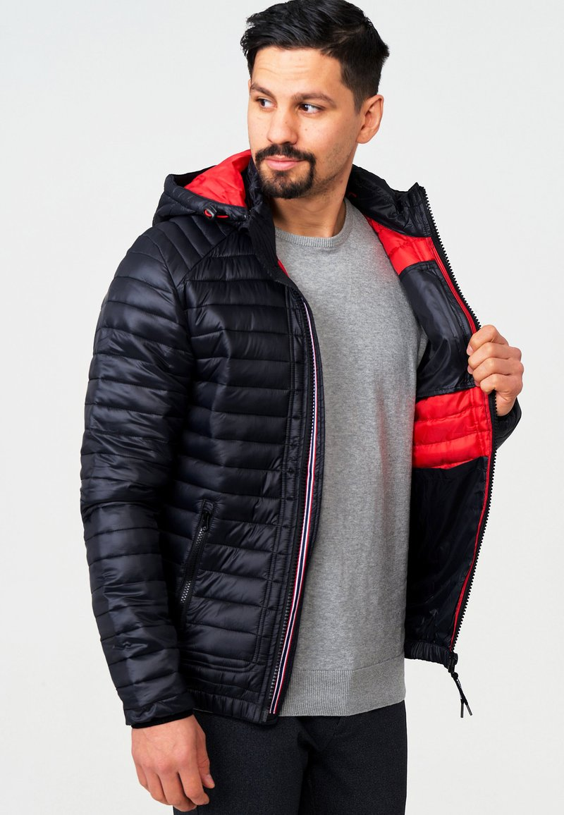 INDICODE JEANS - AGUILLAR - Winter jacket - black
