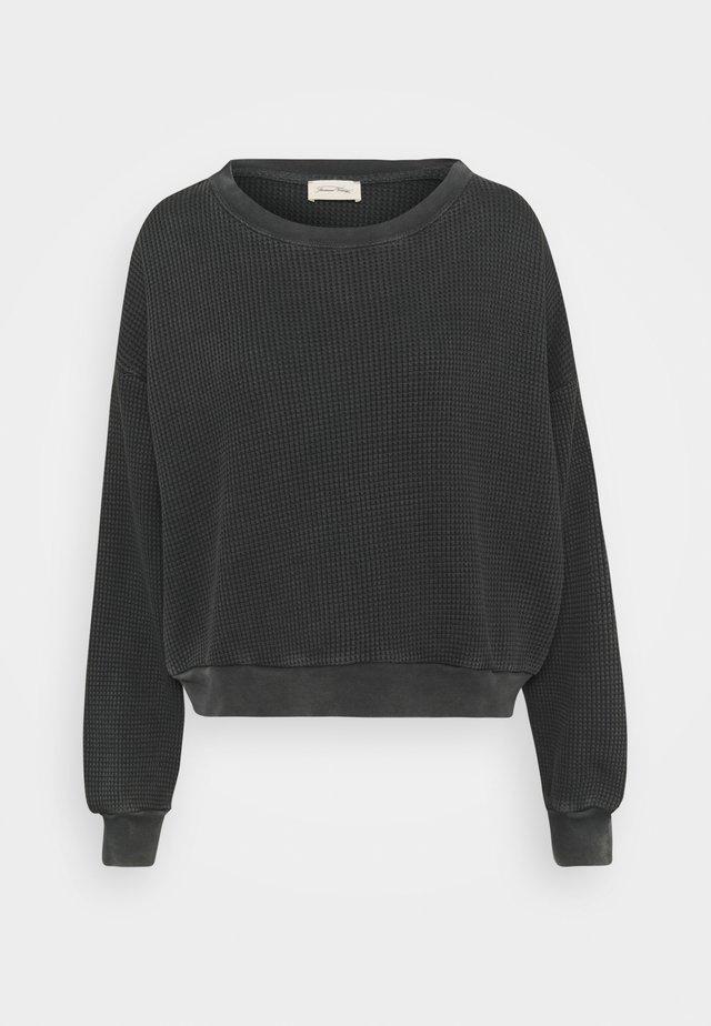 BOWILOVE - Stickad tröja - zinc vintage