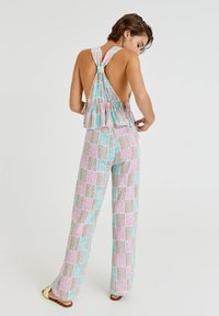 PULL&BEAR - Trousers - turquoise - 2
