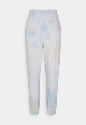 ONLHELLA LIFE PANTS - Tracksuit bottoms - orchid bloom/sky blue famingo