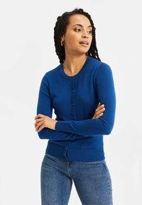 WE Fashion - Chaqueta de punto - navy blue - 0
