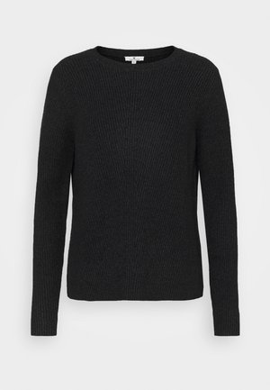 CREWNECK  - Jumper - black melange