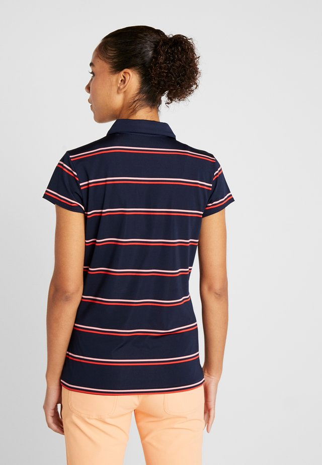 Sports shirt - navy blue/princess pink/flash red