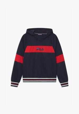 MEO HOODY - Sweat à capuche - black iris/true red