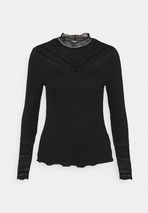 BYTOELLA - Long sleeved top - black
