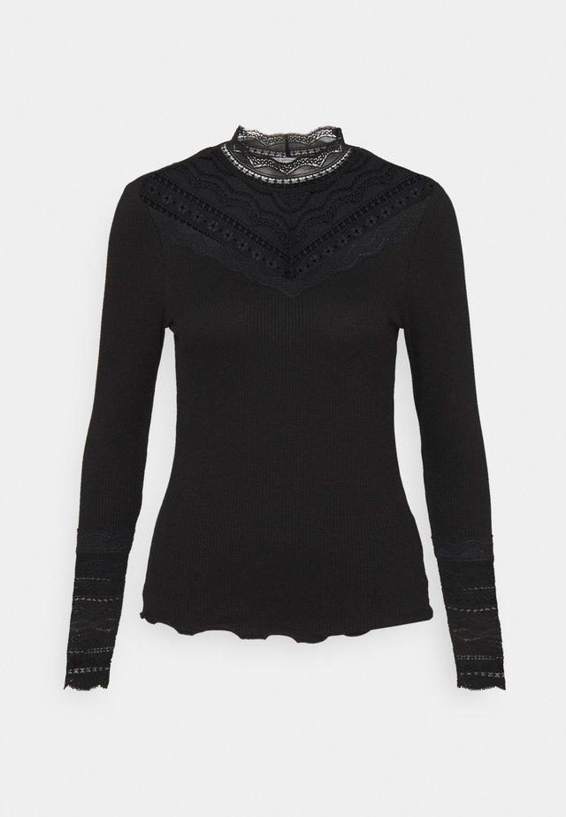 BYTOELLA - Pitkähihainen paita - black