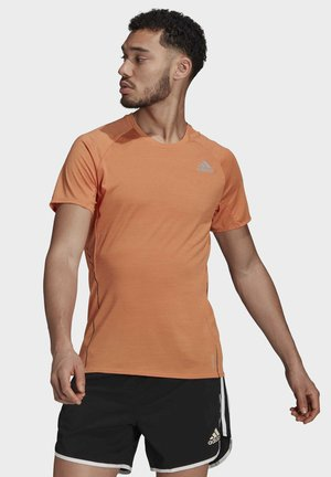 RUNNER - T-Shirt print - orange