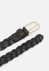 Vanzetti - Braided belt - black/gold-coloured - 1