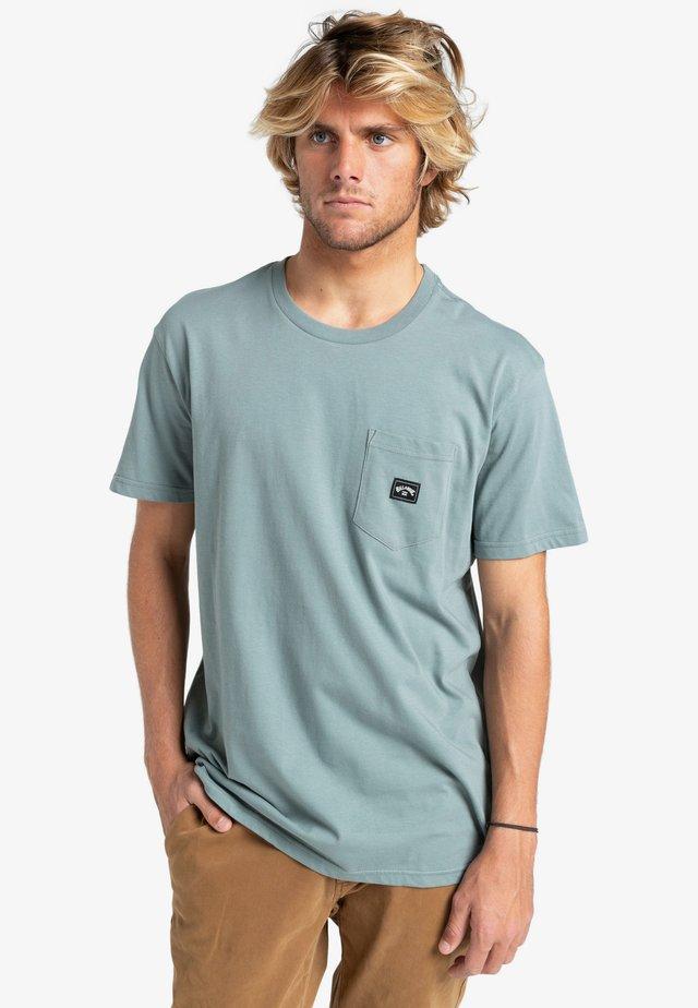 STACKED  - Basic T-shirt - slate