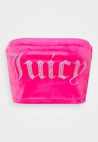 BABE - Top - fluro pink