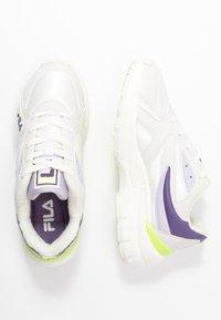 Fila - HYPERWALKER  - Trainers - marshmallow/purple heather - 3