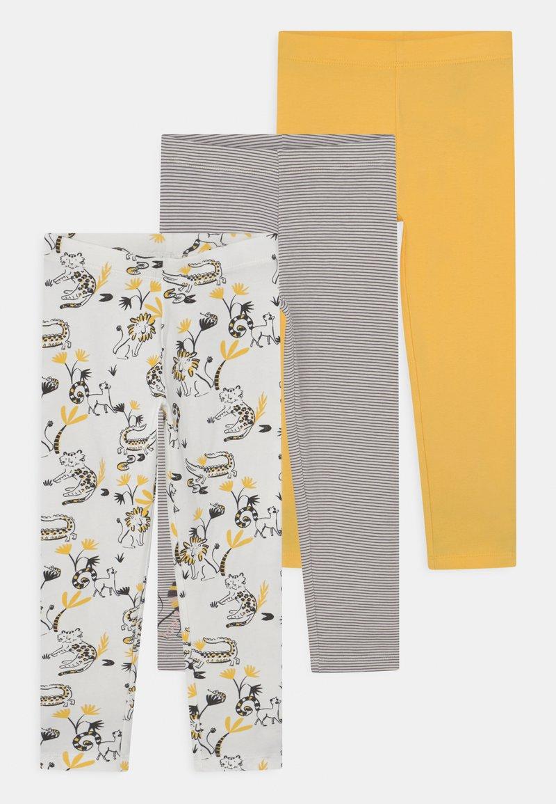 Marks & Spencer London - ANIMAL 3 PACK - Leggings - Trousers - multi-coloured