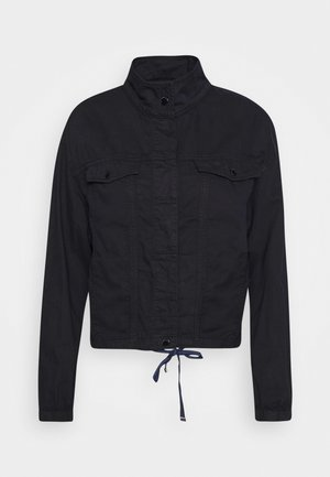 LANGARM - Denim jacket - marine