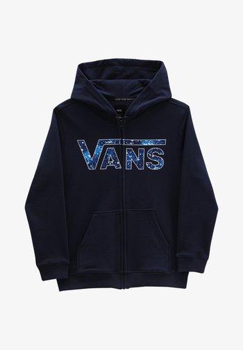 BY VANS CLASSIC ZIP HOODIE II BOYS - Felpa con zip - dress blues/galactic glow