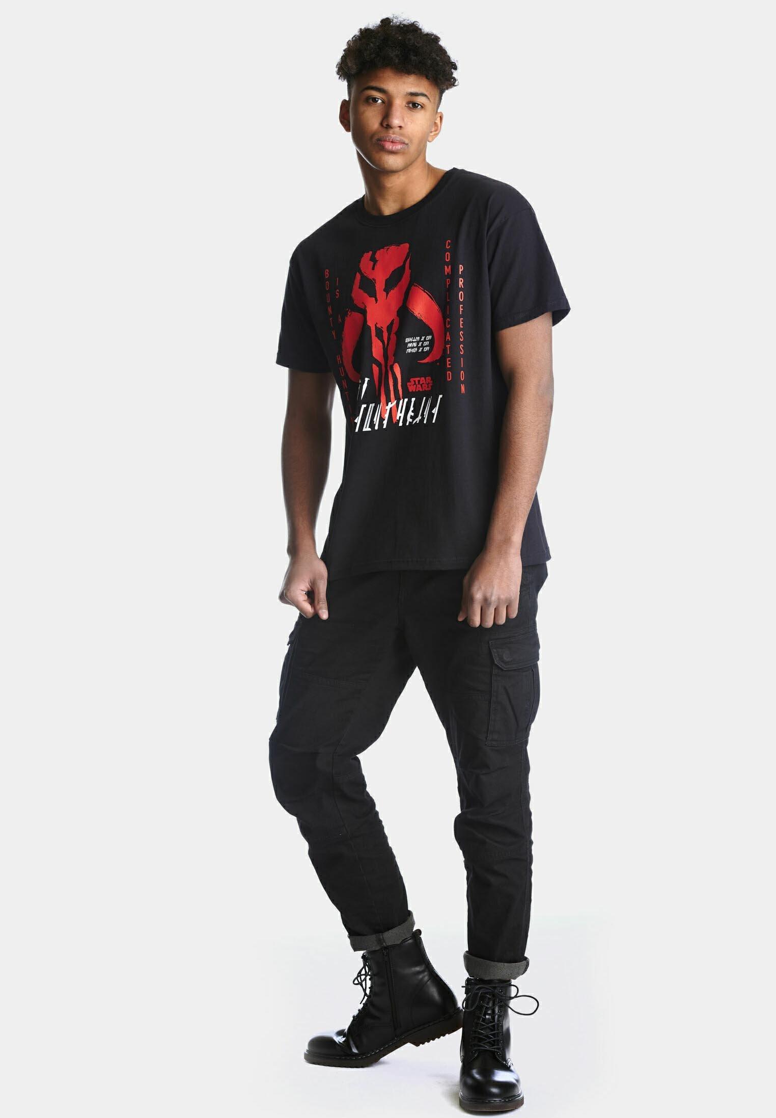 Herren THE MANDALORIAN COMPLICATED PROFESSION - T-Shirt print