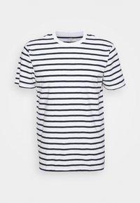 J.CREW - SLUB DECK STRIPE TEE - T-shirt imprimé - mountain white - 5