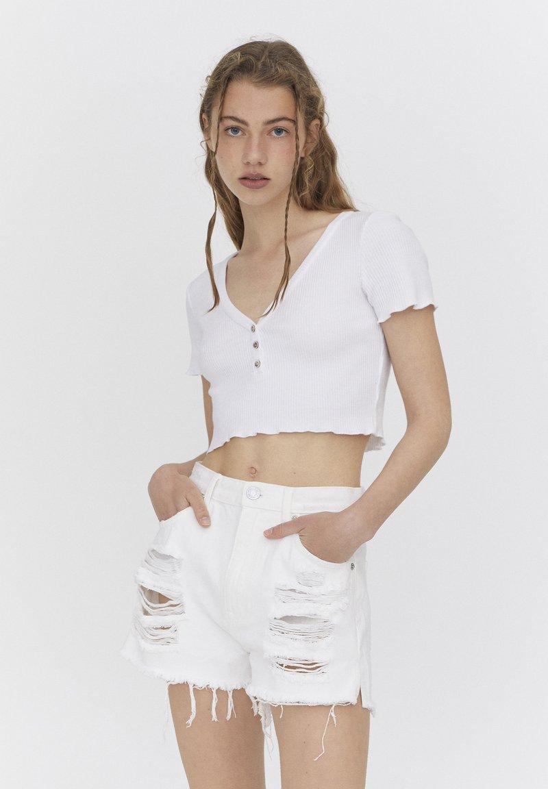 PULL&BEAR - Blouse - white