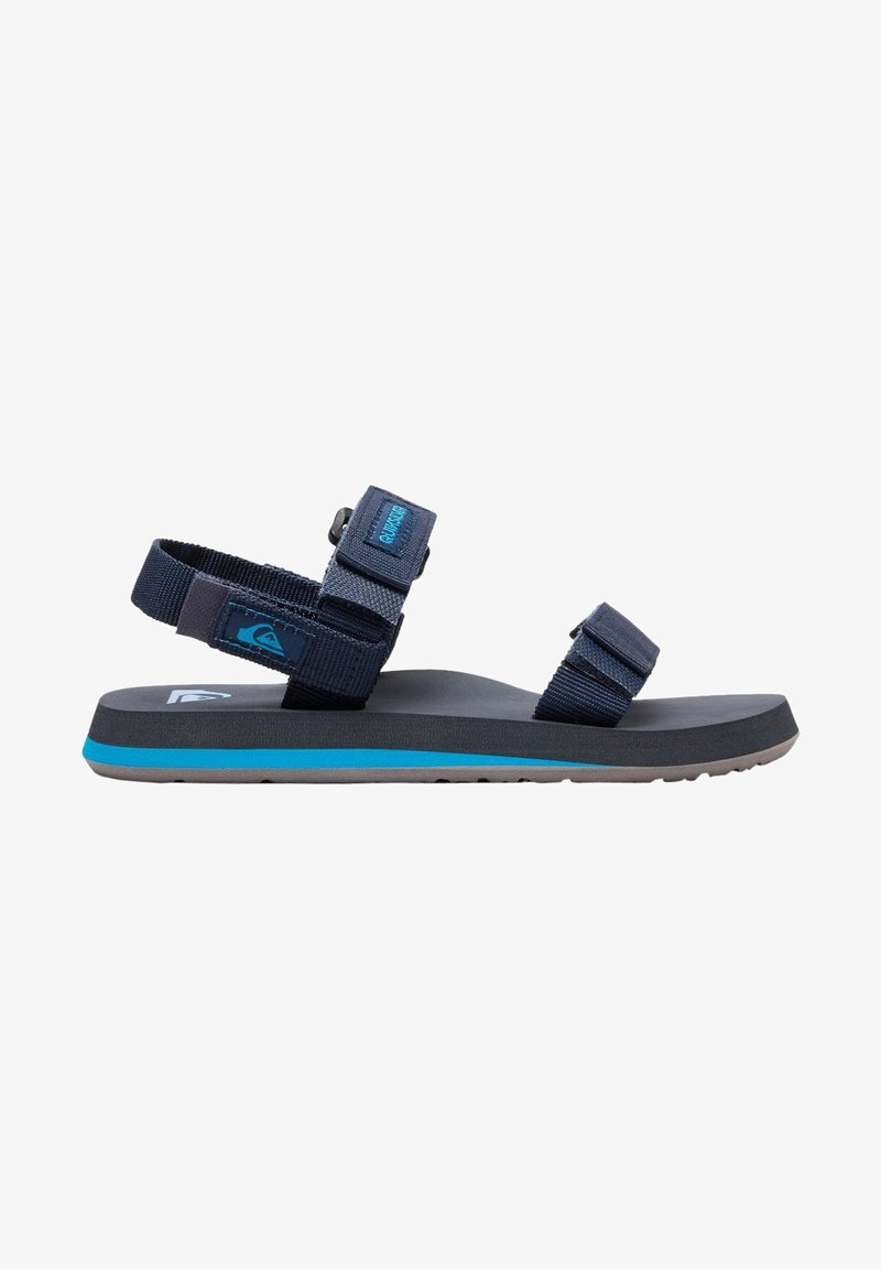 Quiksilver - MONKEY CAGED - Walking sandals - blue/grey/blue