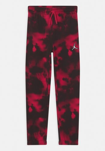 ESSENTIALS PANT - Tracksuit bottoms - very berry