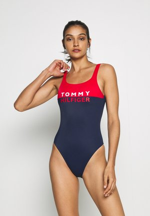 BOLD ONE PIECE - Swimsuit - red glare