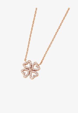 KLEEBLATT  - Necklace - rosegold