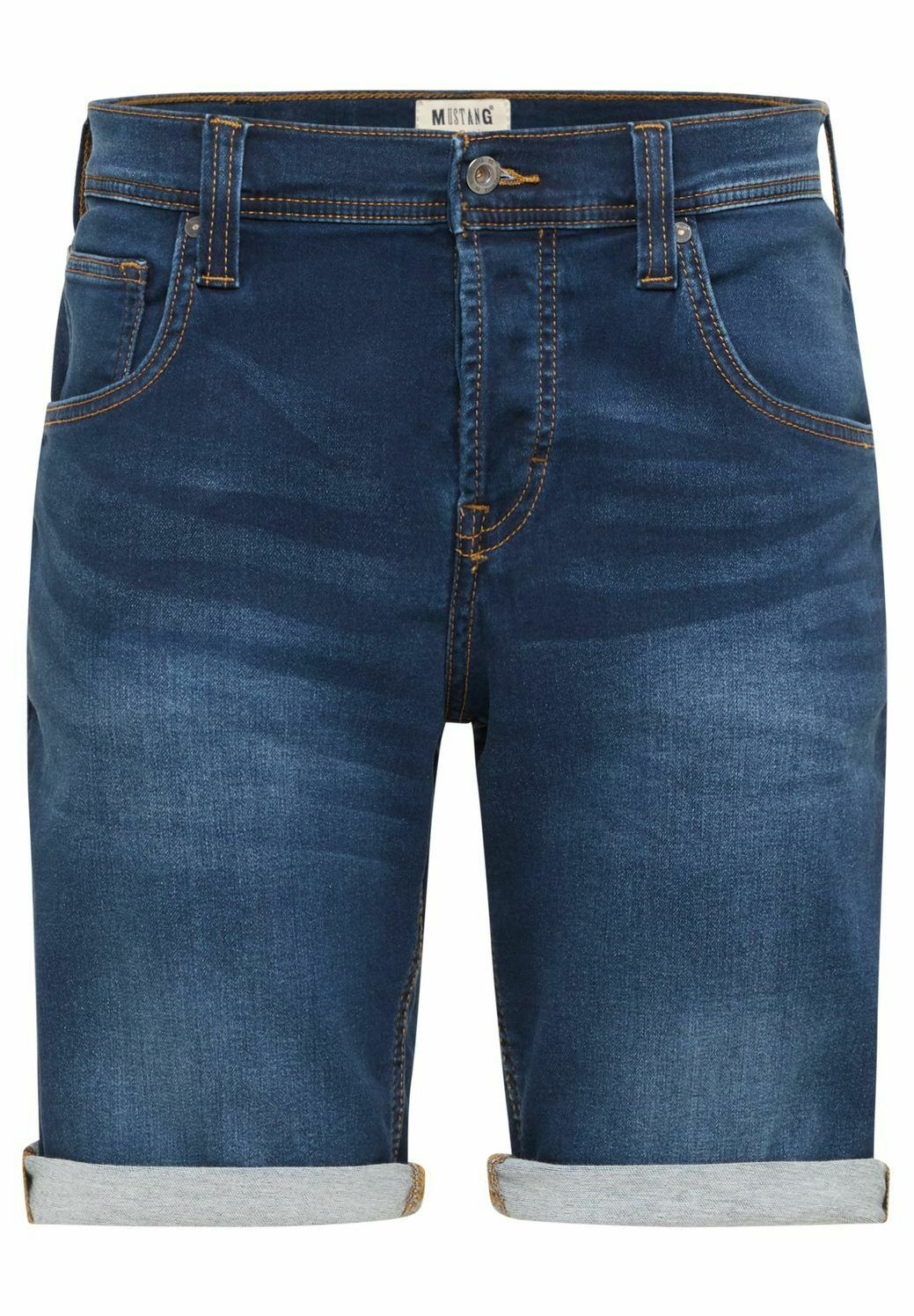 Herren CHICAGO - Jeans Shorts - mid blue