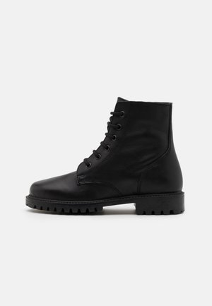 KEFF UNISEX - Lace-up ankle boots - black