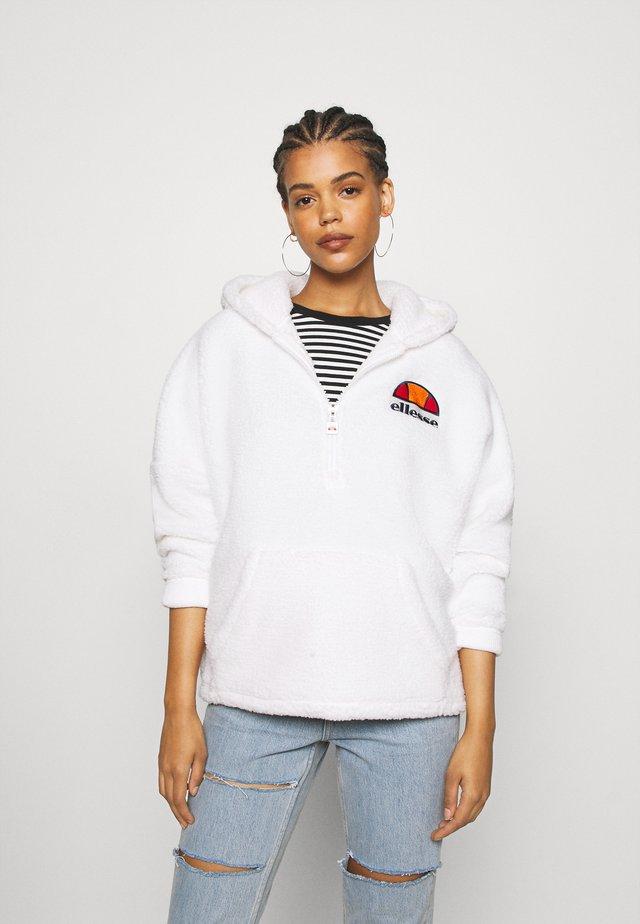 SEPPY - Bluza z kapturem - white