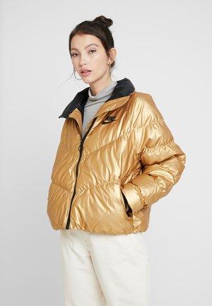 FILL SHINE - Winter jacket - metallic gold/black