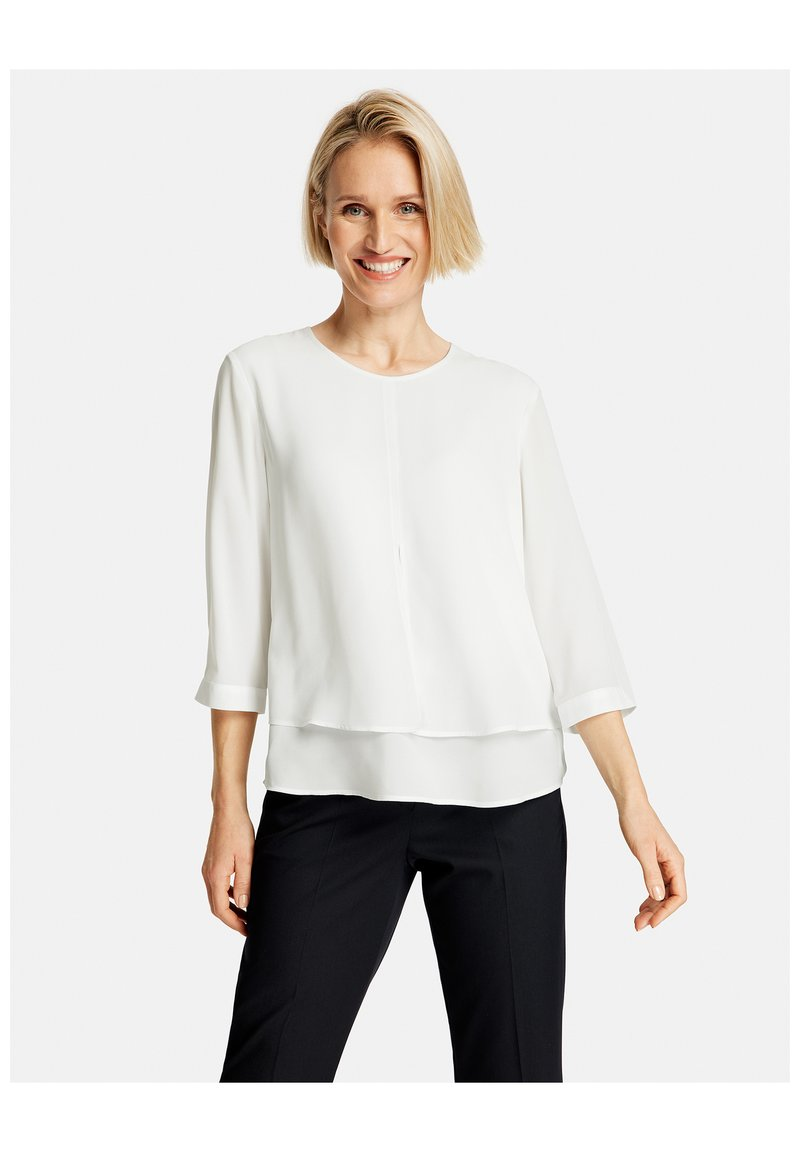 Gerry Weber - Long sleeved top - off-white