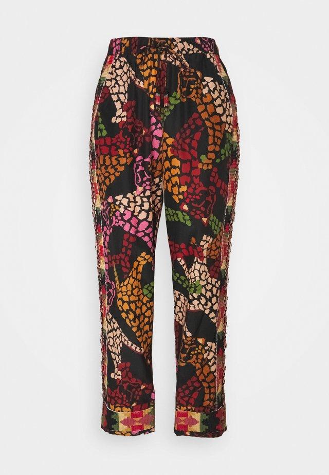 LEAOPARD PANTS - Pantaloni - multi