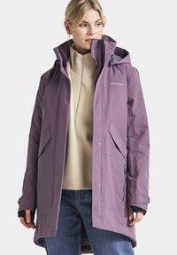 Didriksons - TANJA - Winter coat - eggplant - 0