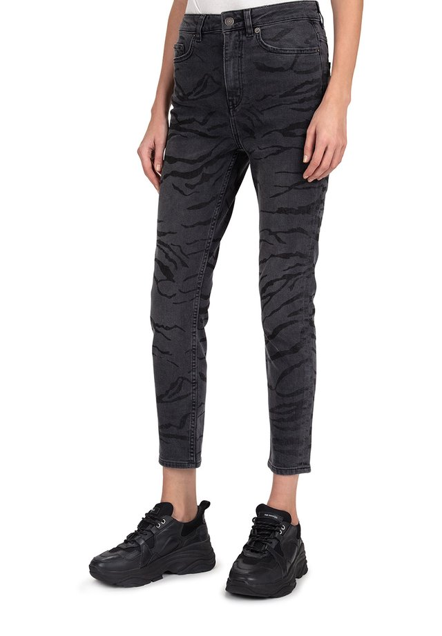 Slim fit jeans - black