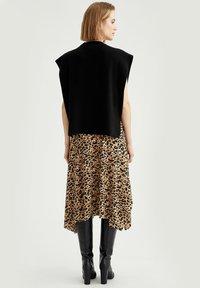 DeFacto - A-line skirt - beige - 2