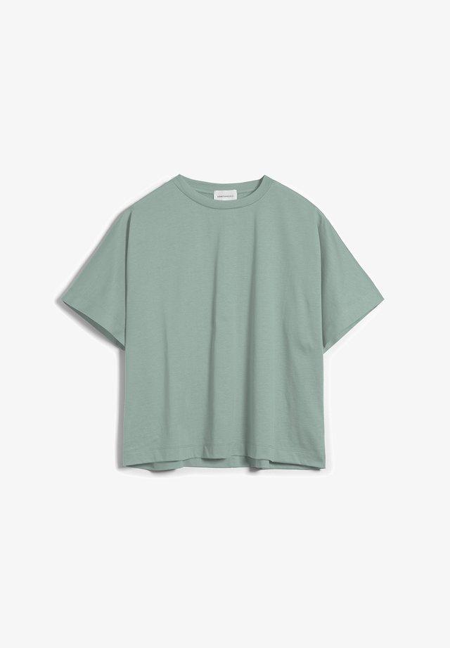 KAJAA - T-Shirt basic - matcha