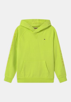 SLEEVE ARTWORK HOODIE - Sweatshirt - sour lime