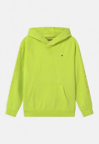 SLEEVE ARTWORK HOODIE - Sweatshirts - sour lime
