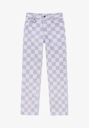 SCHACHBRETTMU - Kalhoty - mottled lilac