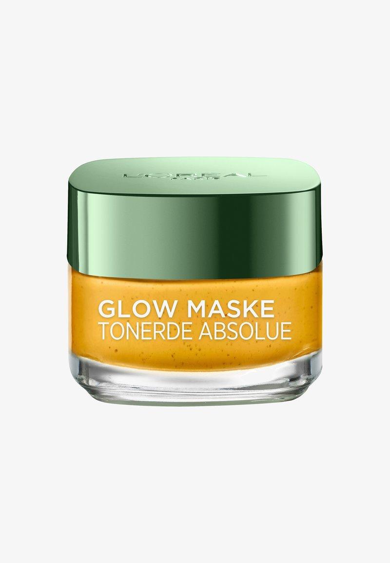 L'Oréal Paris Skin - CLAY ABSOLUTE GLOW MASK 50ML - Face mask - -