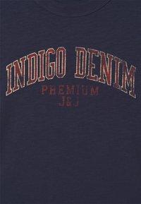 Jack & Jones PREMIUM - Print T-shirt - peacoat - 2