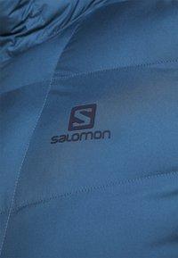 Salomon - SIGHT STORM HOODIE  - Zimní bunda - night sky/dark denim - 6